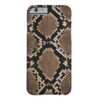 Design muito à moda da pele de cobra capa barely there para iPhone 6