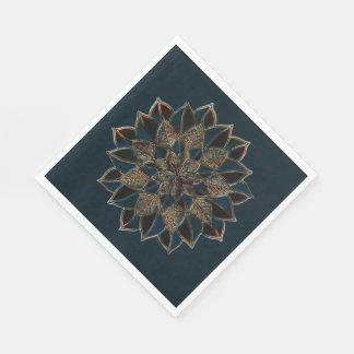 Design multicolorido dos guardanapo de papel
