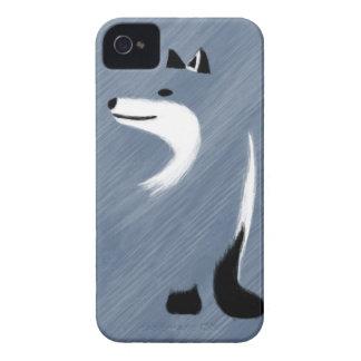 Design original do Fox azul Capa Para iPhone