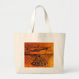 Design para um helicóptero bolsas para compras