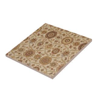 Design persa floral Tawny da tapeçaria do Umber Azulejo