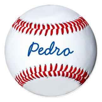 Design personalizado da foto do basebol convite quadrado 13.35 x 13.35cm