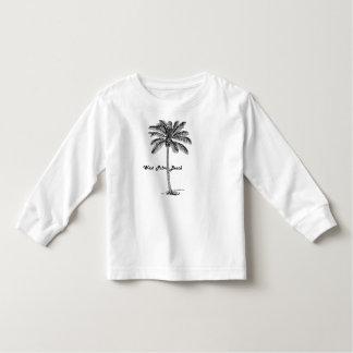 Design preto e branco de West Palm Beach & de Camiseta Infantil