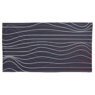Design retro, caixa do travesseiro da onda