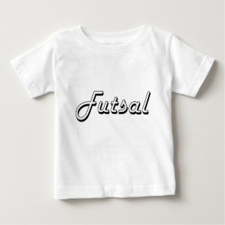 Design retro clássico de Futsal Tshirt