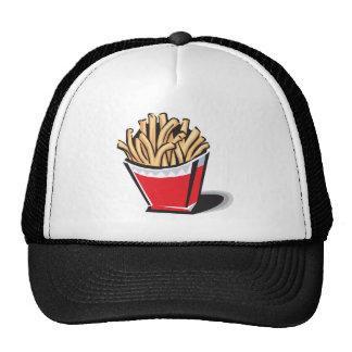 design retro das batatas fritas bonés