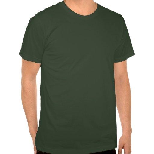 Design retro do desenho da bicicleta no verde tshirts