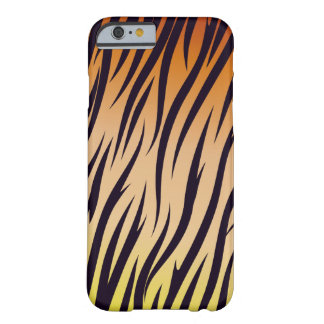 Design selvagem bonito do tigre capa barely there para iPhone 6