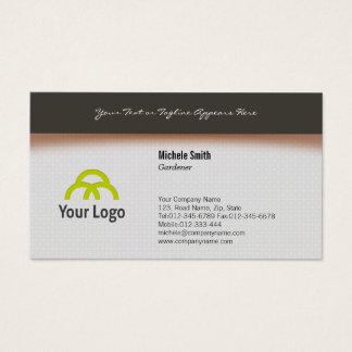 Design simples do cartão de visita do jardineiro