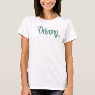 Design sonhador do TShirt - camiseta bonito -