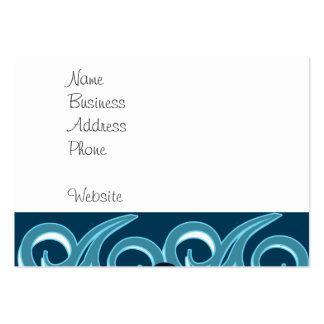 Design surfando do oceano da praia do gajo legal cartão de visita grande