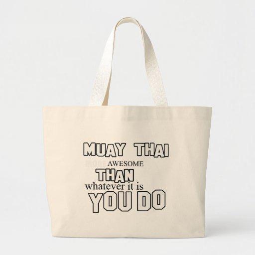 design tailandês muay bolsas de lona