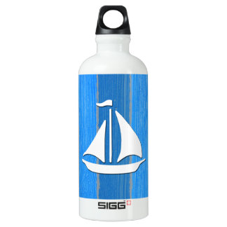 Design temático náutico garrafa d'água