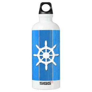 Design temático náutico garrafa d'água de alumínio