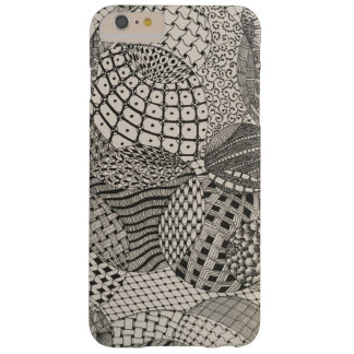 Design tirado mão capas iPhone 6 plus barely there