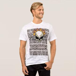 design tribal completo dos homens camiseta