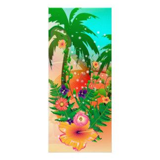Design tropical do verão convite personalizado
