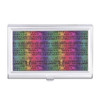 Design velho do papel do arco-íris da contagem porta cartoes