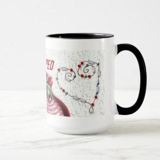 Design vermelho #222 da caneca do clube