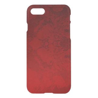 Design vermelho do rubi capa iPhone 8/7