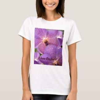 "Design violeta exótico ""mágico"" das orquídeas camiseta"