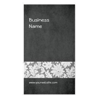 Designer de interiores cinzento escuro moderno do cartão de visita