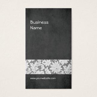 Designer de interiores cinzento escuro moderno do cartão de visitas