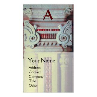 DESIGNER DE INTERIORES, monograma da ARQUITETURA,  Cartões De Visitas