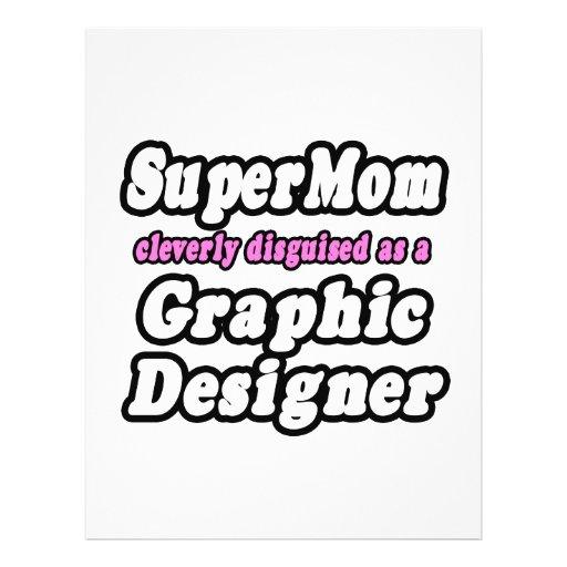 Designer gráfico do SuperMom… Panfletos