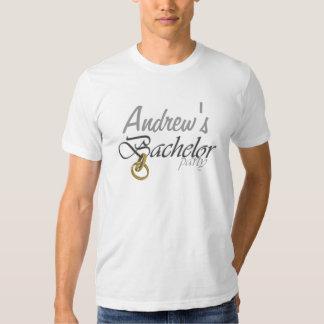 Despedida de solteiro customizável camisetas