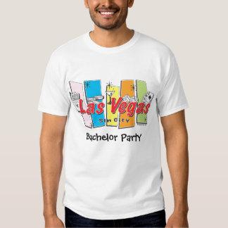 Despedida de solteiro de Las Vegas T-shirts