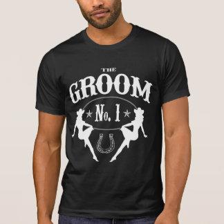Despedida de solteiro ocidental idoso - versão do tshirts