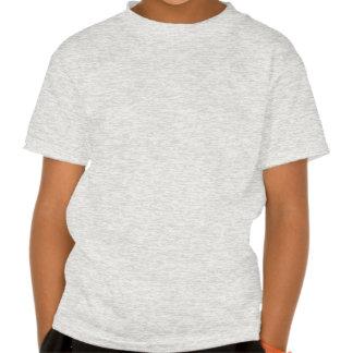 Desperdício do verde do alfabeto t-shirt