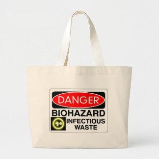 Desperdício infeccioso do Biohazard Bolsa Para Compras