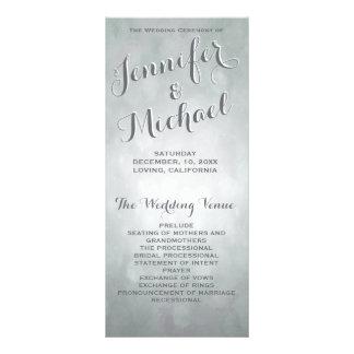 Destaques subtis da prata do programa | do 10.16 x 22.86cm panfleto