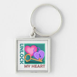 Destrave meu coração: Ame a chave para o dia dos n Chaveiro