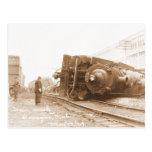 Destruição 1929 do trem cartão postal