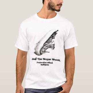 Destruição do açúcar - ilha de Perhentian - o Camiseta