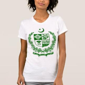 Detalhe da brasão de Paquistão T-shirts