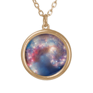 Detalhe da colar galáctica da colisão