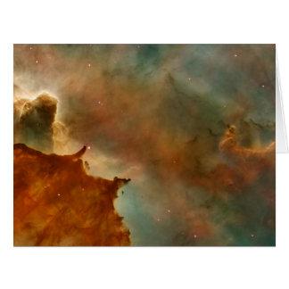 Detalhe da nebulosa de Carina Cartões