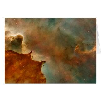 Detalhe da nebulosa de Carina Cartoes