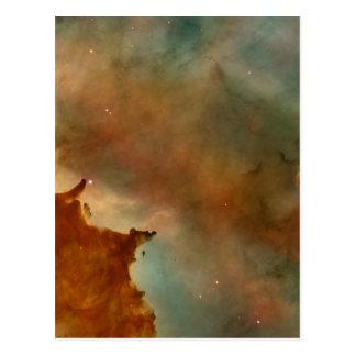 Detalhe da nebulosa de Carina Cartão Postal