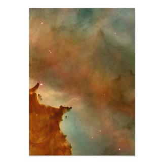 Detalhe da nebulosa de Carina Convites Personalizados