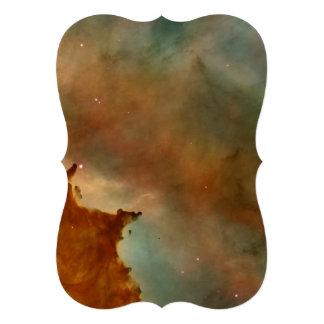 Detalhe da nebulosa de Carina Convites Personalizado