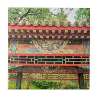 Detalhe da ponte do palácio de verão