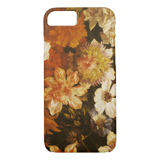 Detalhe das flores (óleo em canvas) capa iPhone 7