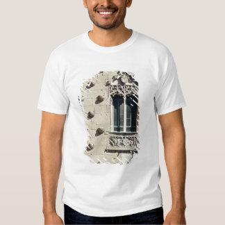 Detalhe do exterior das casas de la Conchas T-shirt