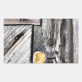 Detalhe histórico da porta adesivo retangular