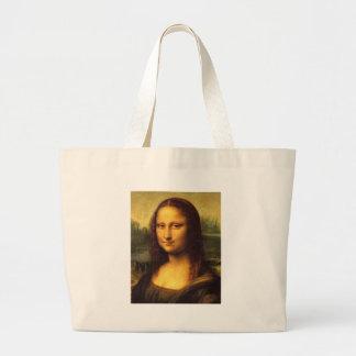 Detalhe principal de Mona Lisa - Leonardo da Vinci Bolsa